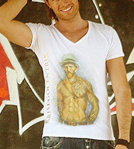 "T-shirt Linea Evergreen: ""Vincent Van Gogh"""