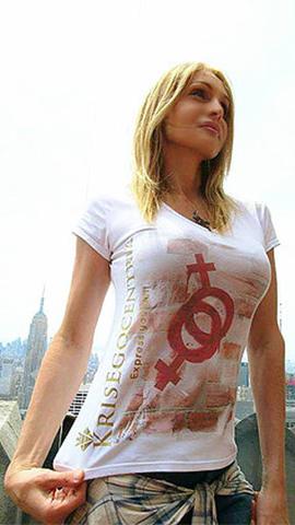 T-shirt Linea Revolution: Simbols