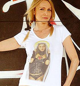 """T-shirt Linea Evergreen: """"La Madonna del Granduca"""""""