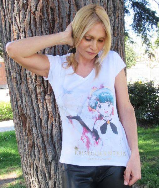 T-shirt Linea Manga: Magica Emi