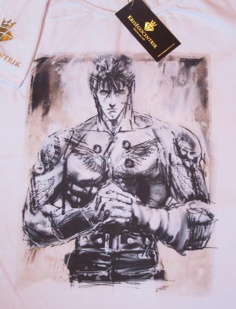 T shirt linea manga ken il guerriero krisegocentrik express