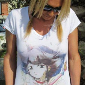 T-shirt Linea Manga: L'Incantevole Creamy