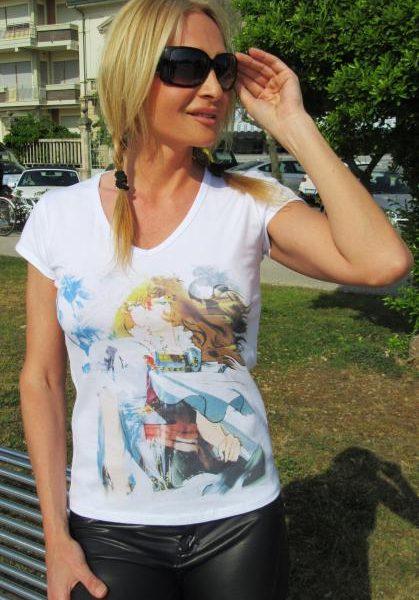 T-shirt Linea Manga: Lady Oscar