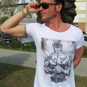 T-shirt Linea Manga: Ken Il Guerriero